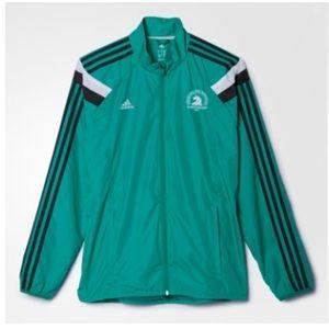 EUC Adidas 2016 Boston Marathon Running Jacket